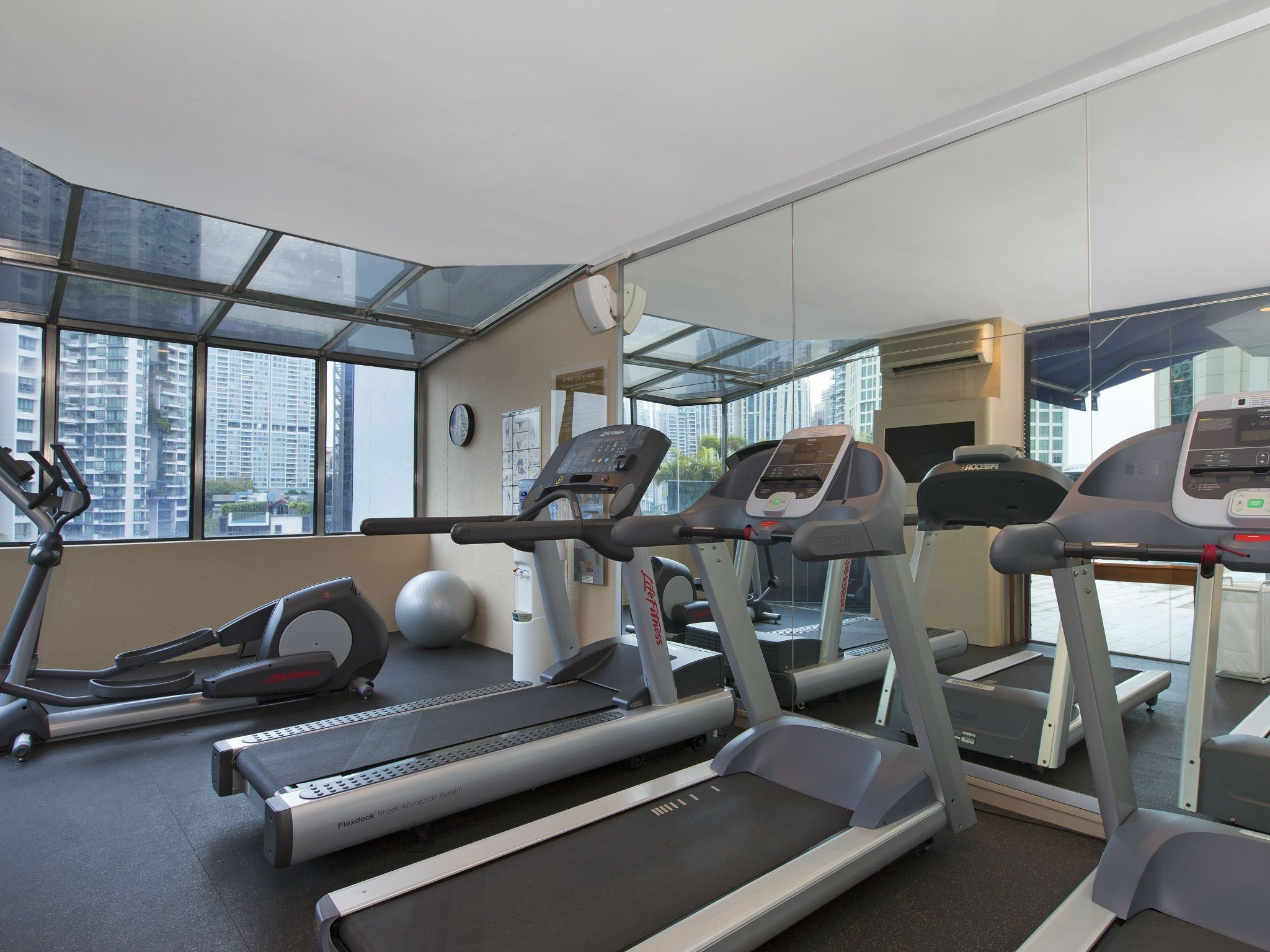 Our Fitness Centre is open 24-hour